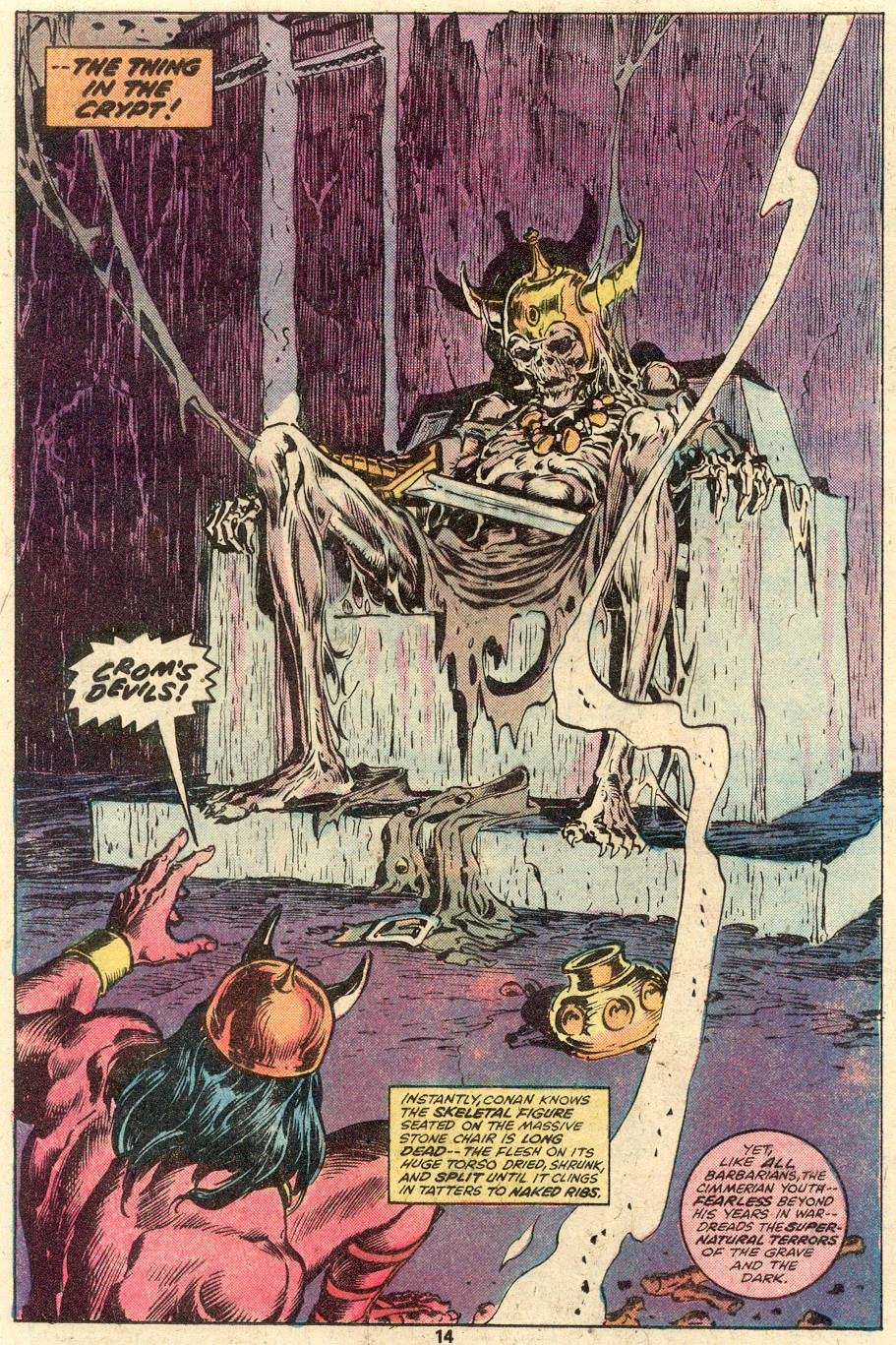 Conan the Barbarian (1970) Issue #92 #104 - English 10