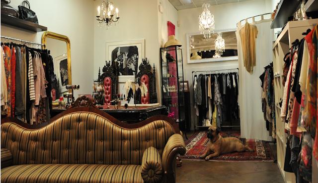Jennyfleur loves inside, Jennyfleur loves boutique inside the store, Vancouver