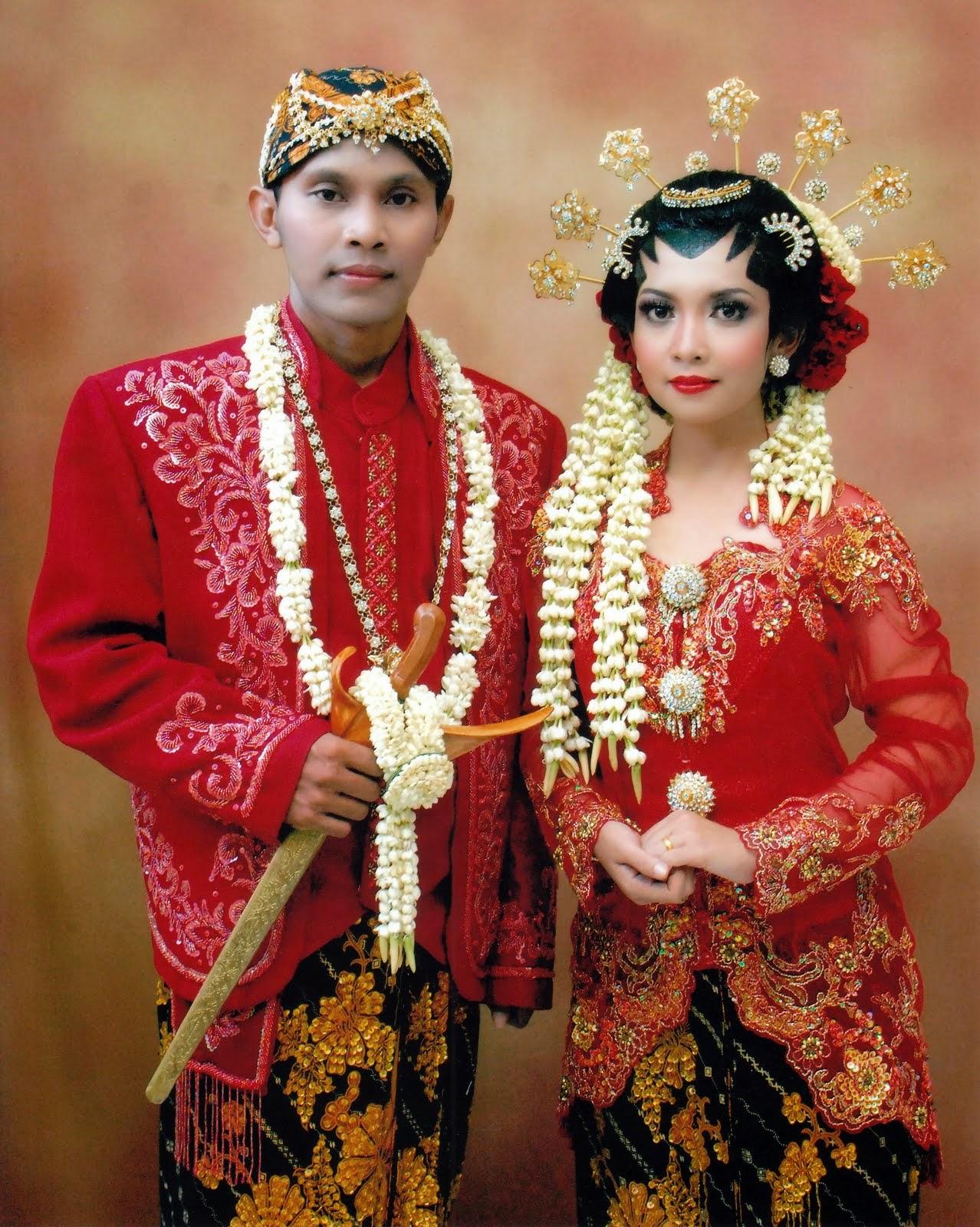 Foto Model Baju Kebaya Pengantin Indonesia