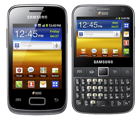 SamTeck: Galaxy Y Duos, New Galaxy Y Duos Specs And Price