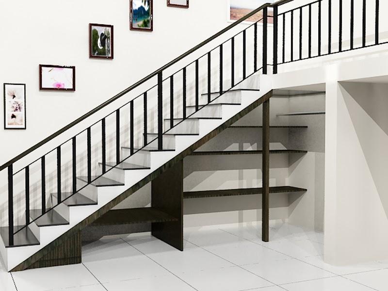 contoh model tangga rumah minimalis