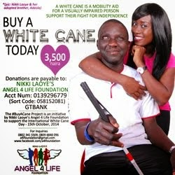 #BuyACane for the Visually Impaired - Angel4Life Foundation