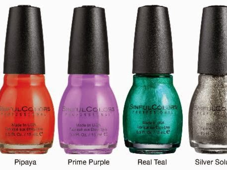 SinfulColors Summer Colors