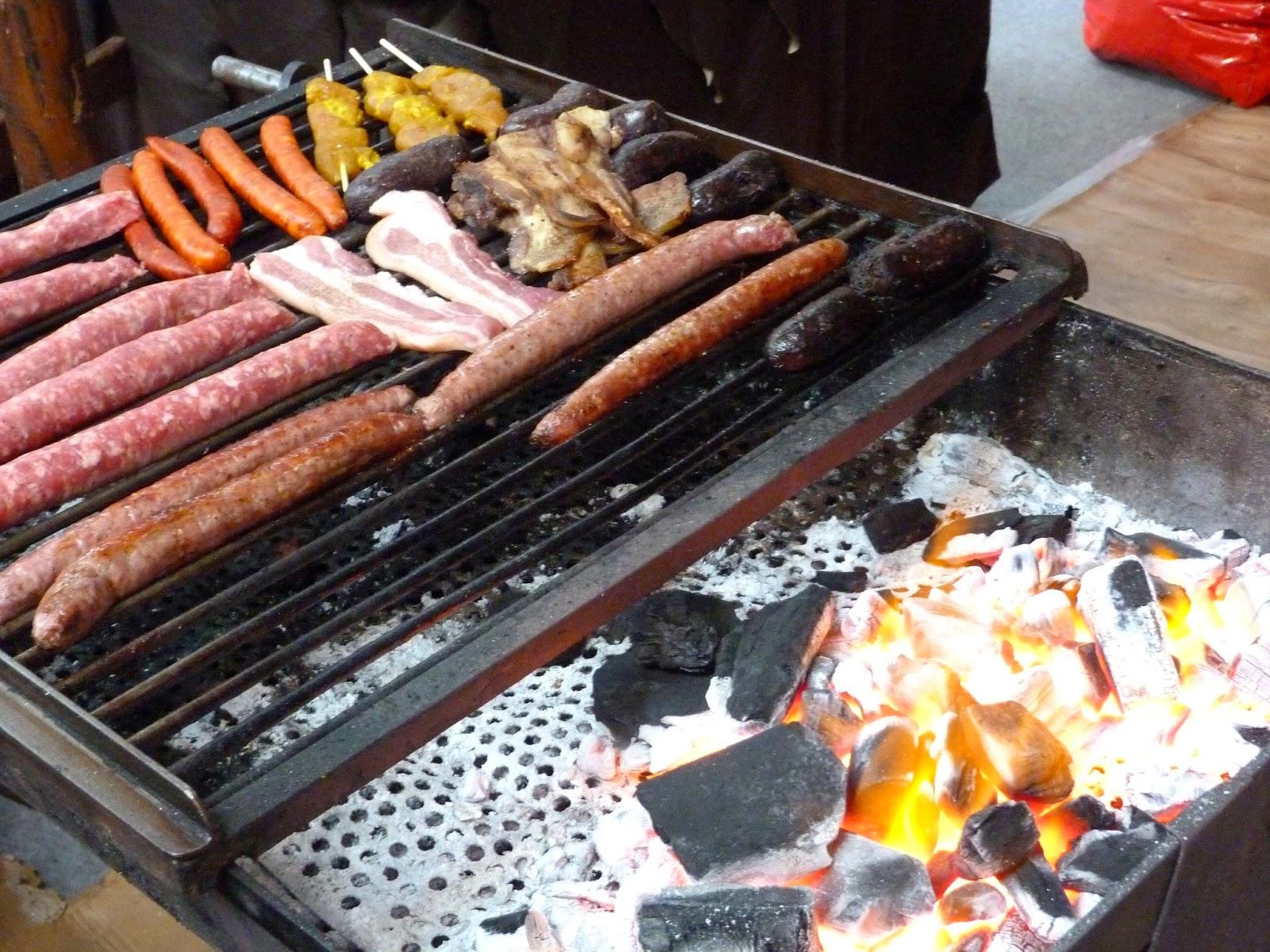 Tarragonain comida a la brasa