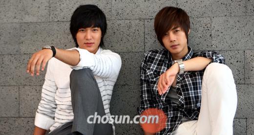 me heart lee min ho and kim hyun joong