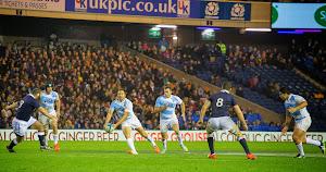Los Pumas cayeron ante Escocia por 41 a 31