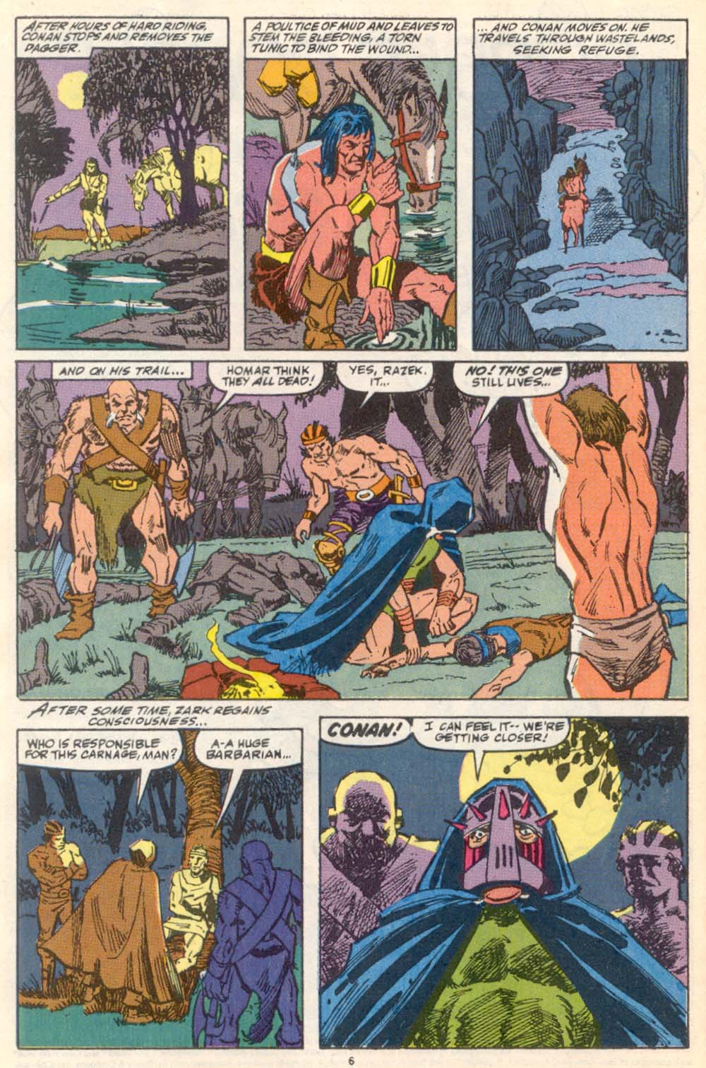 Conan the Barbarian (1970) Issue #222 #234 - English 6