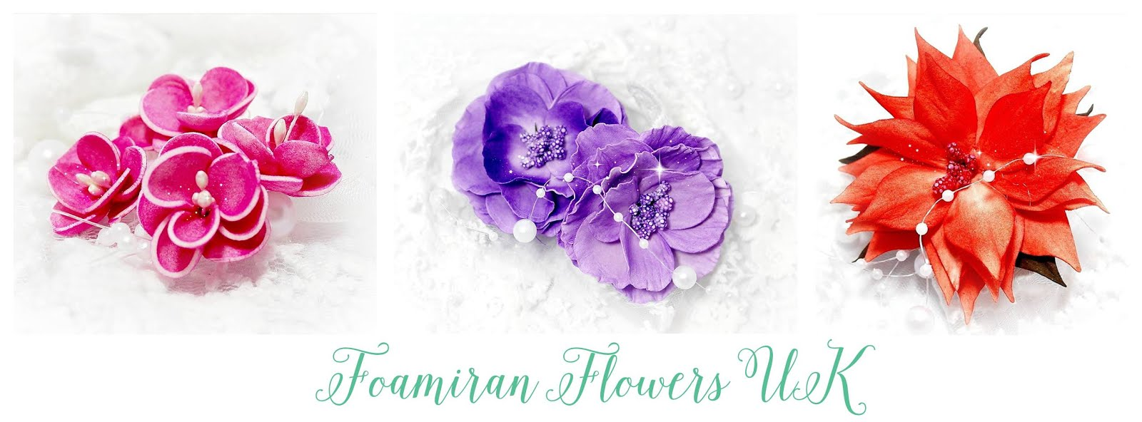 Foamiran Flowers UK