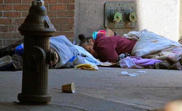 pobreza de los hispanos en la ciudad de Nueva York -