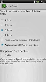 Tegra Overclock v1.6.5a Android Apk