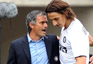 Mourinho and Ibrahimovic at Inter Milan