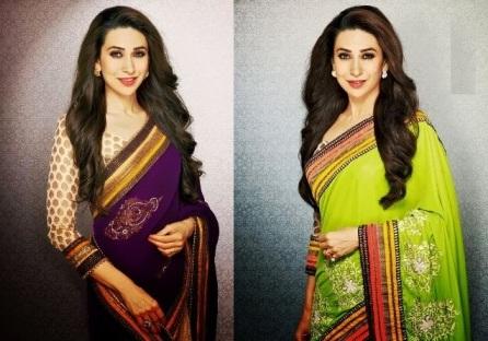 Karishma-Kapoor-Saree