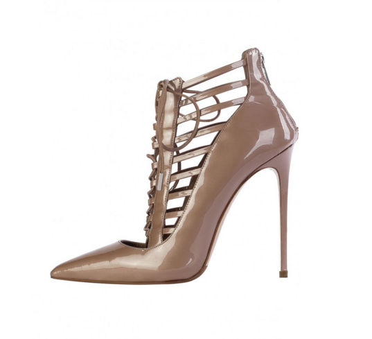 Le Silla nude caged heels on Fashion and Cookies fashion blog, fashion blogger style