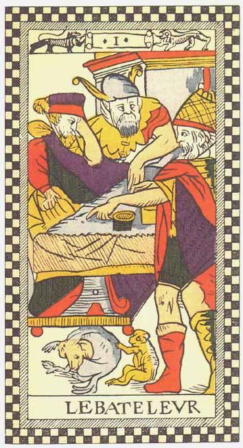 Les Secrets du Tarot  LE BATELEUR (Arcane 1) 9e31a1ed9307