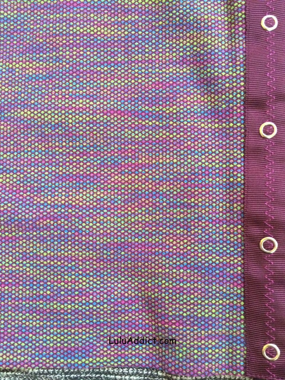 ivivva plum jacquard village chill scarf