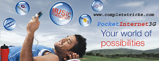 Aircel free pocket internet 3G, Aircel free pocket internet 3G browsing and downloading,Aircel free gprs,Aircel pocket internet,Aircel 3G