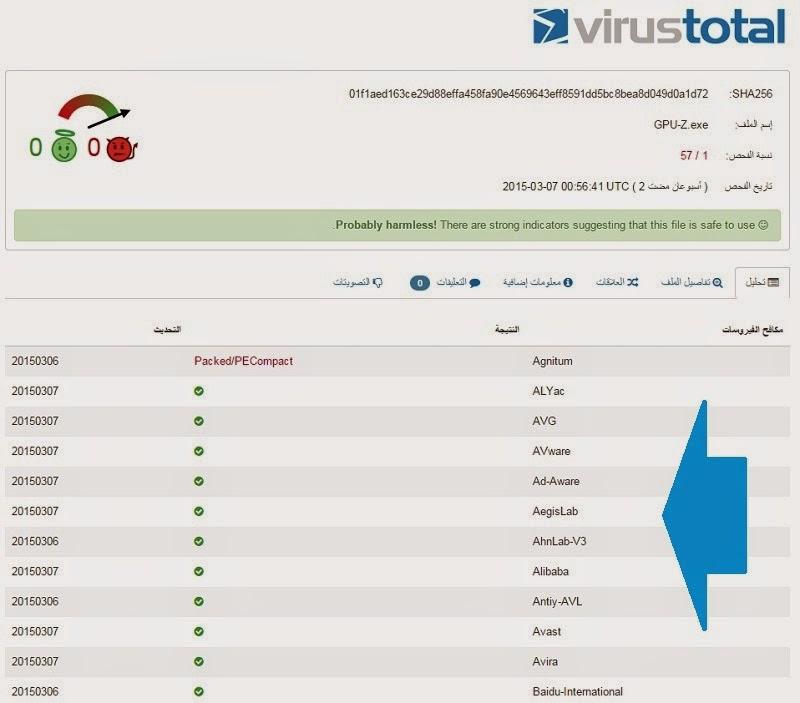 كيفية فحص أي رابط او ملف أو موقع والتأكد من عدم وجود تهديدات أو فيروسات بداخله VirusTotal