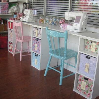 Bellart atelier decora o cantinhos da casa atelier for Sewing room design ideas small space