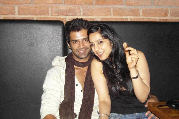 actor barun sobti with wife pashmeen manchanda actor barun sobti