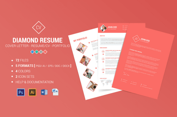Diamond Resume/CV