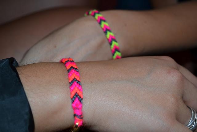 bracelet laine des filles curieuses