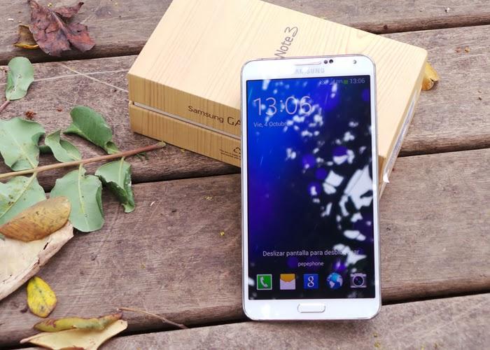Samsung admite fallos en la actualización del Samsung Galaxy Note 3
