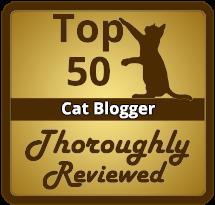 Top 50 Cat Blogger