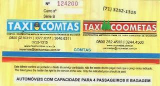 táxi executivo em Salvador