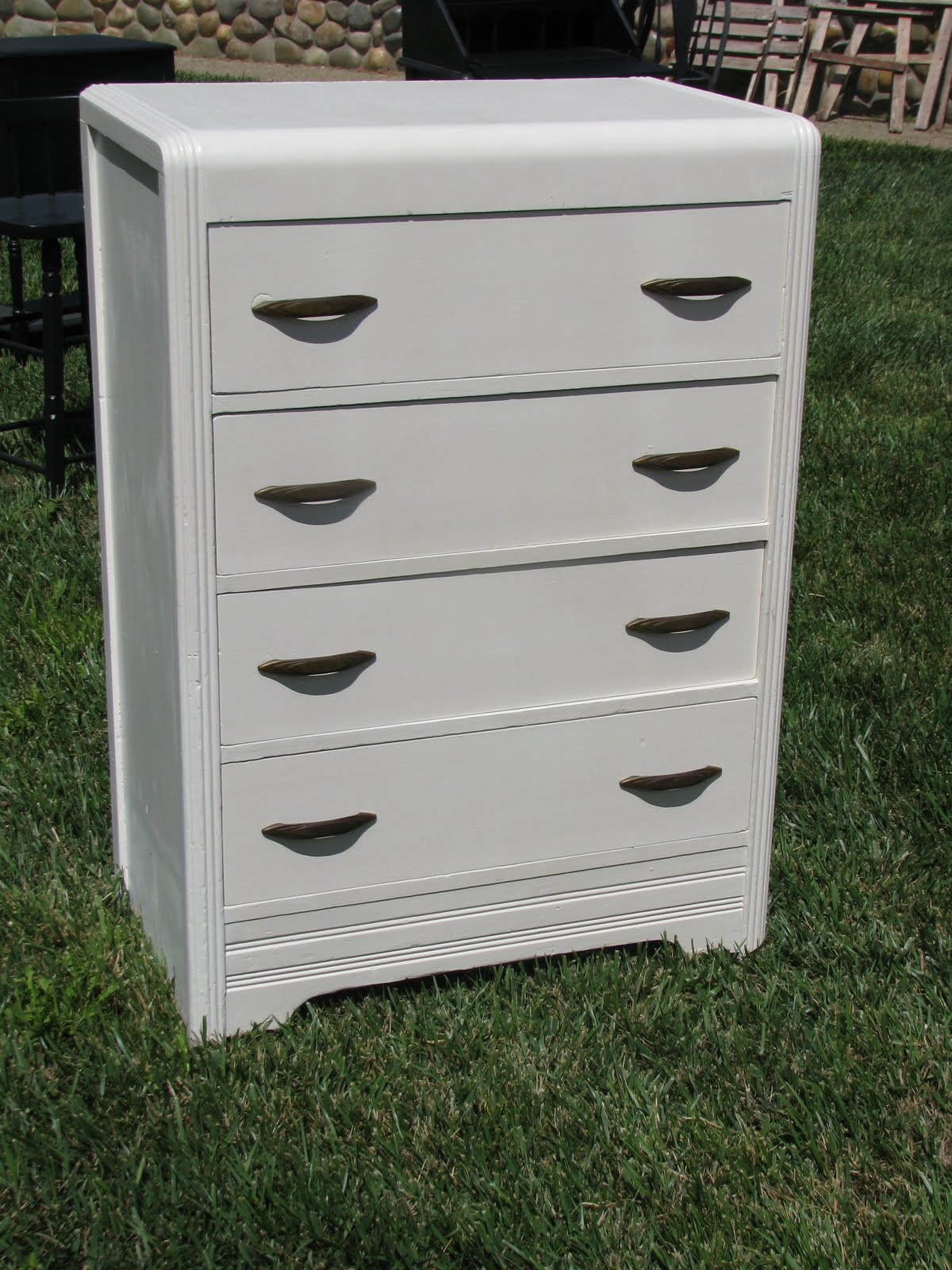 sander yellow down began before white previous repainting dresser vintage the sand used img a update to i paint antique