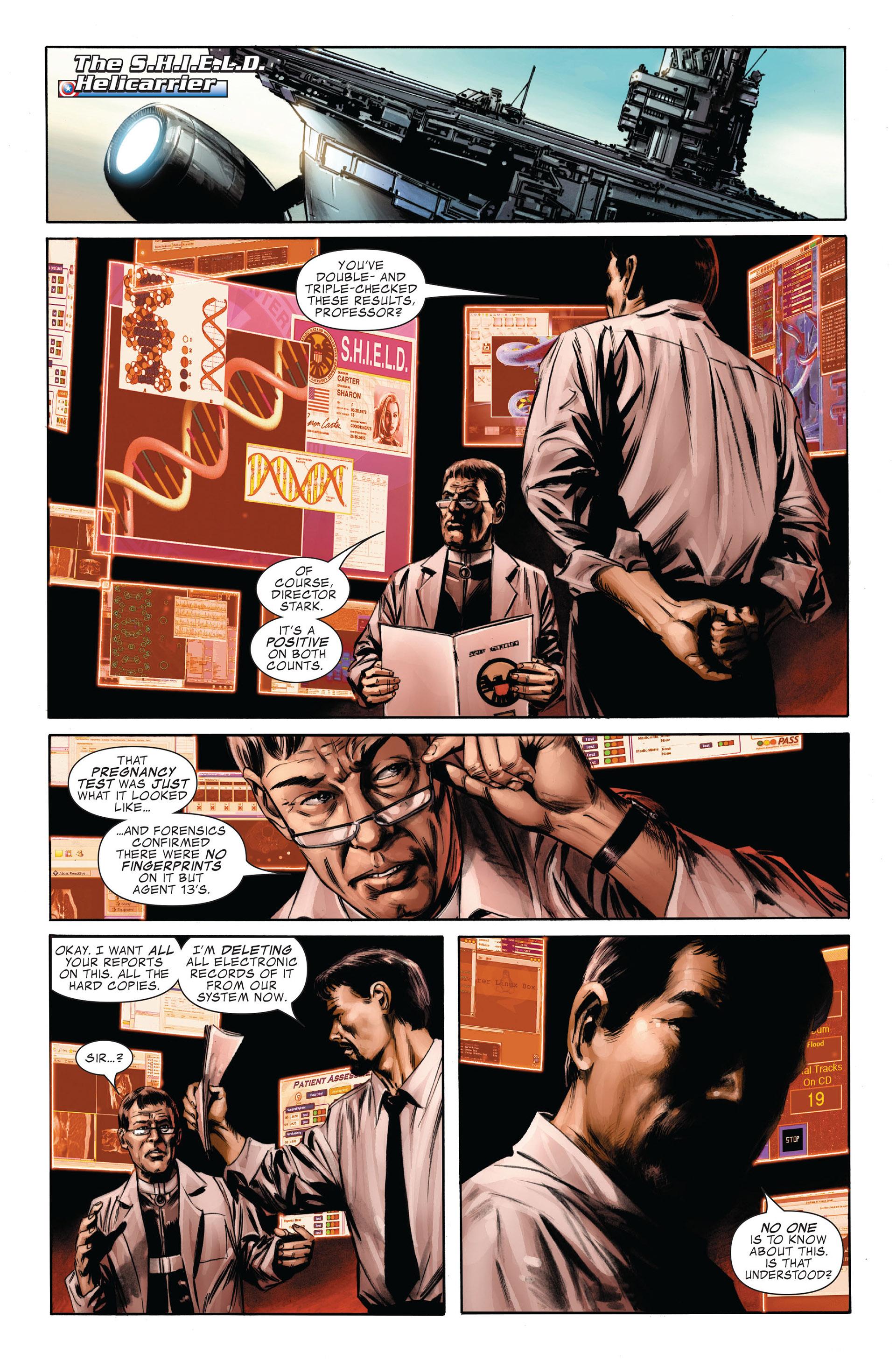 Captain America (2005) Issue #32 #32 - English 8