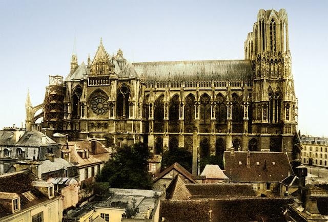 Cathédrale de Reims avant 14-18
