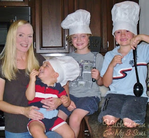 Kitchen Fun With My 3 Little Chefs!