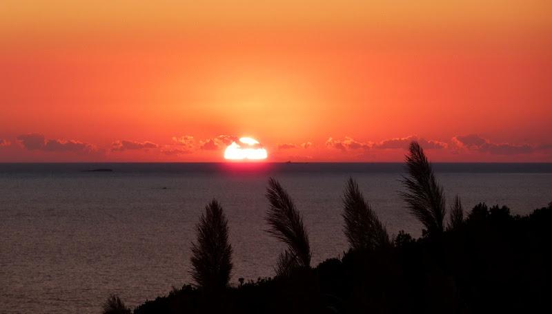 Sonnenuntergang Ionisches Meer (Korfu, Griechenland)