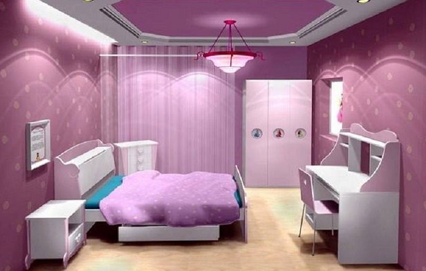 Çilek genç odaları modelleri