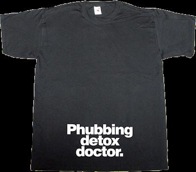 phubbing addiction fun mobile phone t-shirt ephemeral-t-shirts