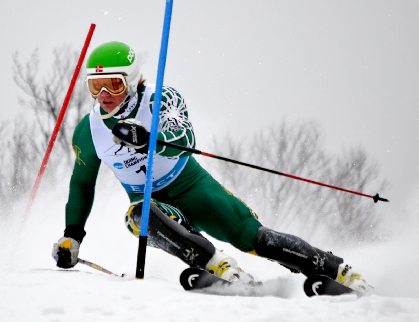 Alpine ski resorts plagued by lack of snow - Vermont S Jonathan Nordbotten Takes The Slalom Win