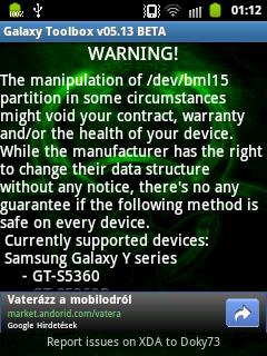 Galaxy Toolbox