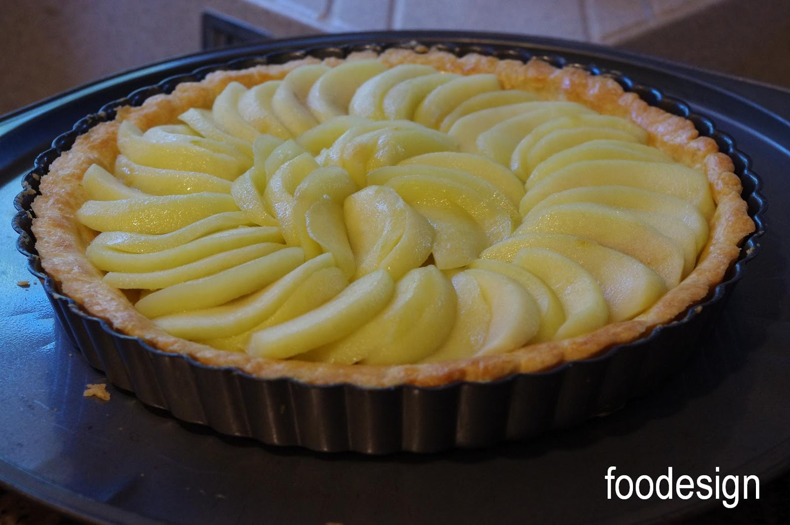 "baked in a 9"" tart pan with removable bottom"