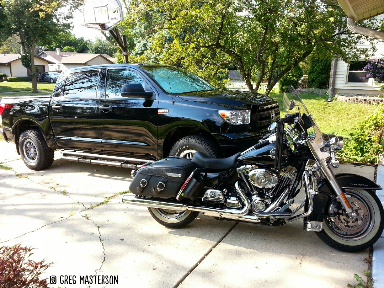 Toyota Tundra and Road King