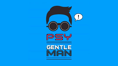 gentleman psy blue wallpapers , background desktop