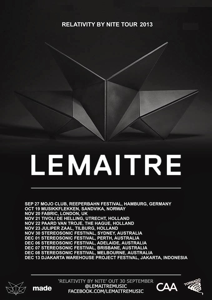 Lemâitre - Relativity By Nite EP