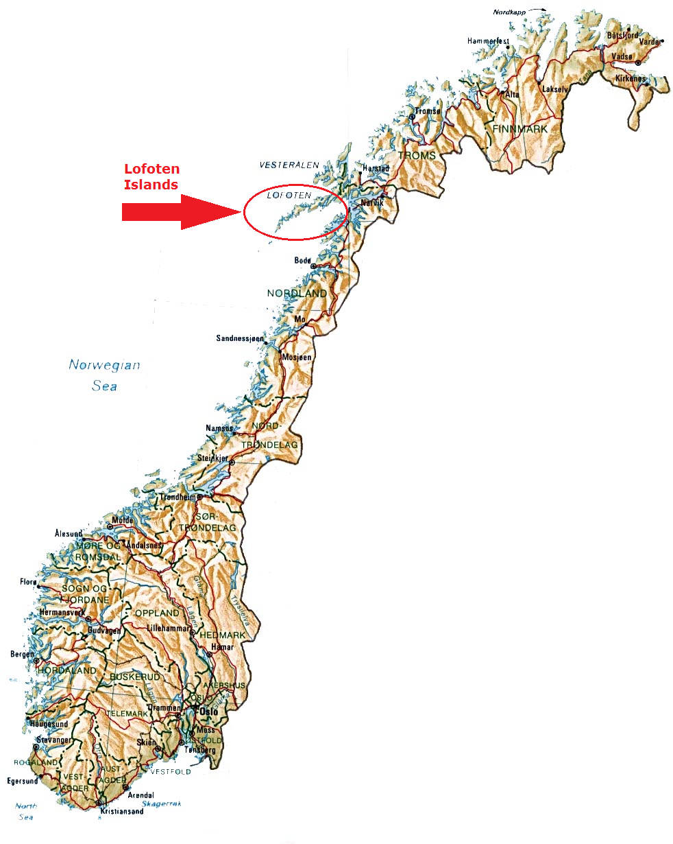 Culture Of Norway Map - Norway map pic