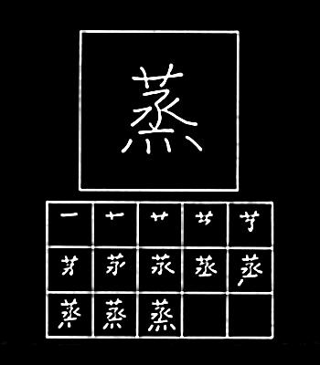 kanji menguap