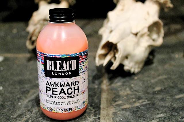 bleach london awkward peach review