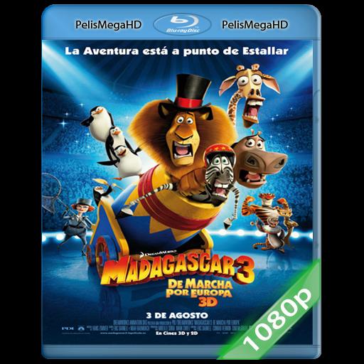 MADAGASCAR 3 (2012) 1080P HD MKV ESPAÑOL LATINO