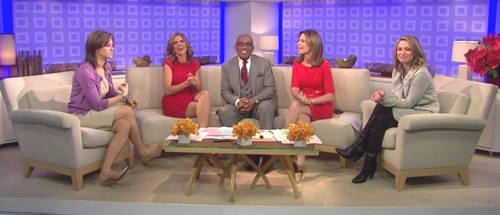 Amy robach legs gma amy robach was black leather