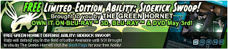 Green Hornet free limited edition ability at Superhero City