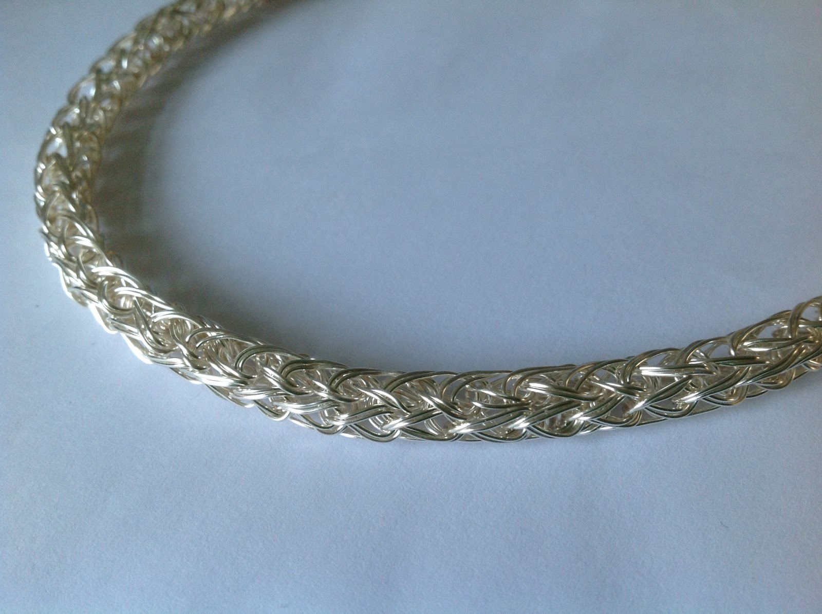 Blue Forest Jewellery\'s blog: Handmade Monday: Viking weave