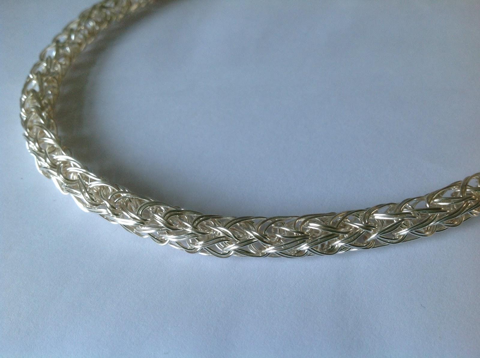 Blue Forest Jewellery\'s blog: Handmade Monday: Viking weave