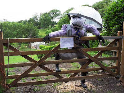 Scarecrow the only gay in Tawstock village